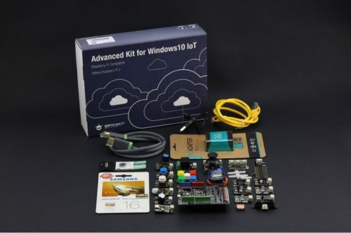 Advanced Kit for Raspberry Pi 2/3 without Pi (Windows 10 IoT Compatible)