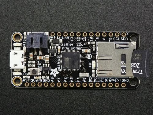 Adafruit Feather 32u4 Adalogger