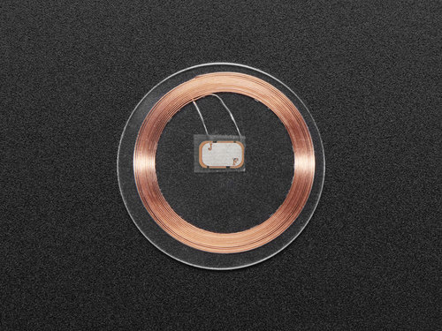 13,56 MHz RFID / NFC Clear Tag - Classic 1K