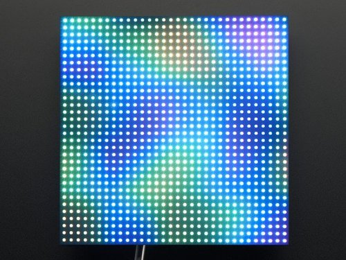 32x32 RGB LED Matrix Panel - 4 mm Abstand