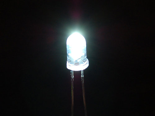Super Bright White 5mm LED (25er Pack)