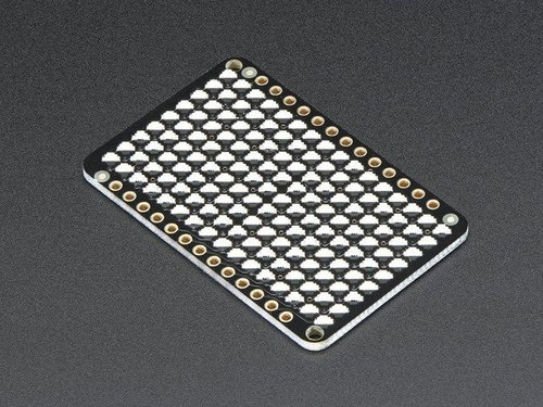 LED Charlieplexed Matrix - 9x16 LEDs - Gelb