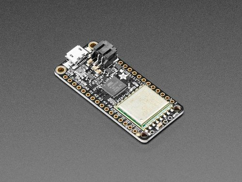 Adafruit Feather 32u4 RFM95 LoRa Radio- 868 oder 915 MHz - RadioFruit