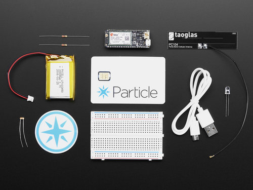 Partikelelektronenzelluläres IoT-Kit - 2G Global