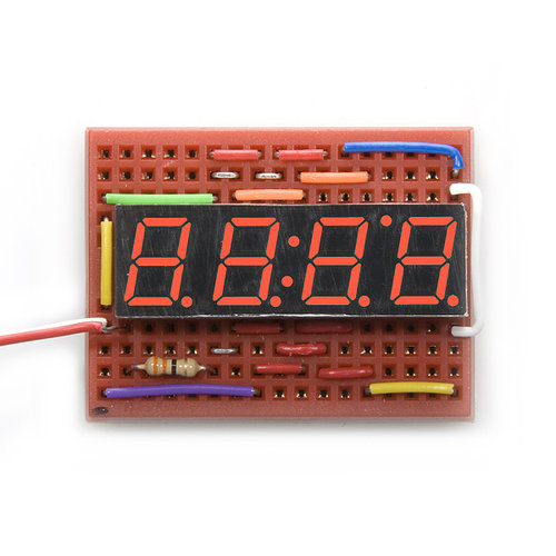 7-Segment Display - 4-Digit (Red)