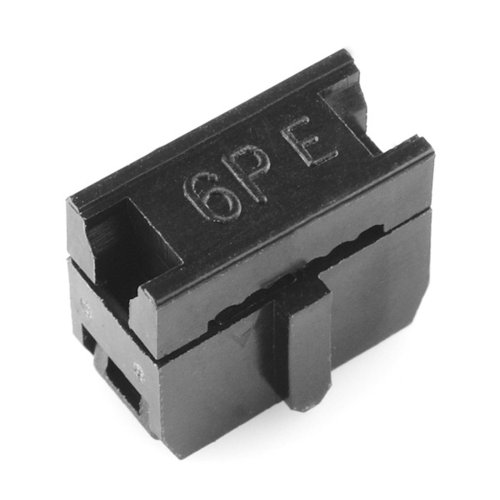 Ribbon Crimp Connector - 6-pin (2x3, Female)