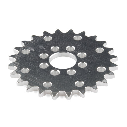 "Sprocket - Hub Mount (0.25"", 24T; 0.5"" Bore)"