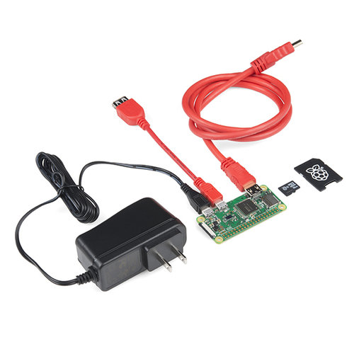 SparkFun Raspberry Pi Zero W Basic Kit
