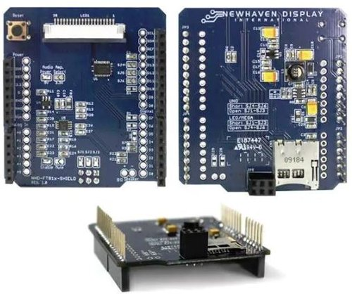 Arduino Shield EVE2 Series Dev Tool