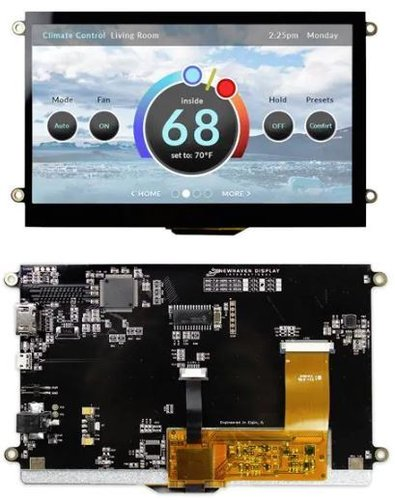 Capacitive Sunlight Readable LCD Board - 7.0in (HDMI)