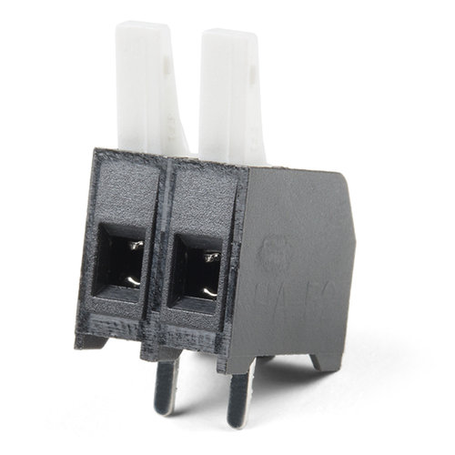 Latch Terminals - 5mm Pitch (2-Pin)