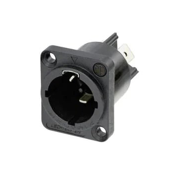 Neutrik powerCON TRUE1 TOP Chassis Connector (Appliance Inlet Connector)