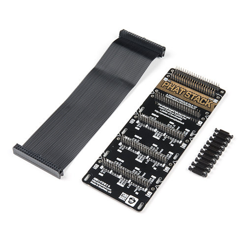 Pimoroni pHAT Stack - Fully Assembled Kit