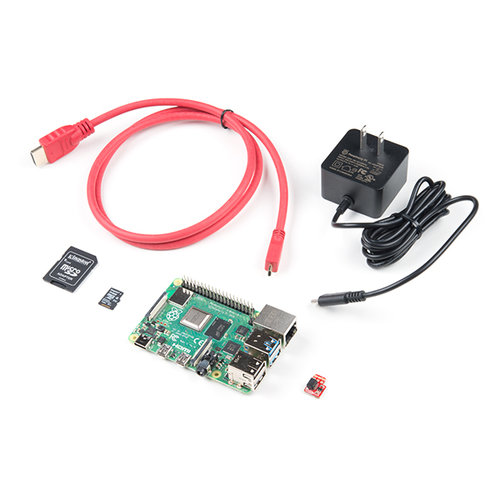SparkFun Raspberry Pi 4 Basic Kit - 4GB